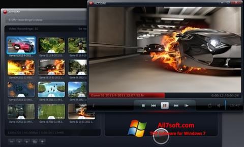 Snimak zaslona Action! Windows 7