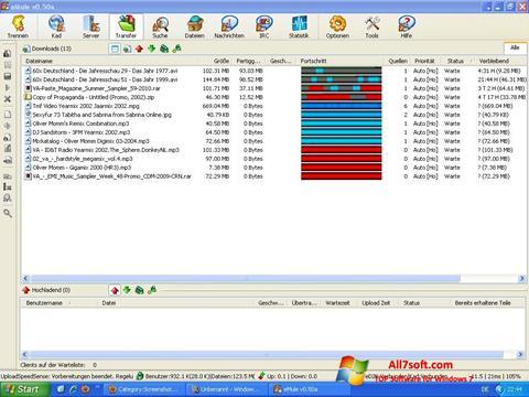 Snimak zaslona eMule Windows 7