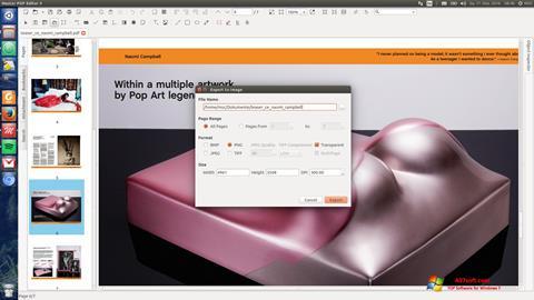 Snimak zaslona Master PDF Editor Windows 7