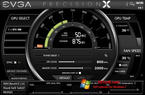 Snimak zaslona EVGA Precision X Windows 7