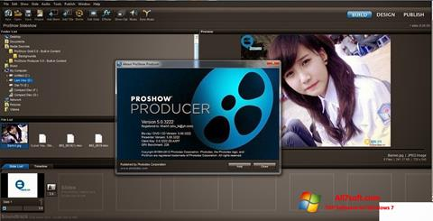 Snimak zaslona ProShow Producer Windows 7