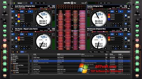 Snimak zaslona Serato DJ Windows 7