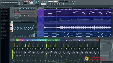 Snimak zaslona FL Studio Windows 7
