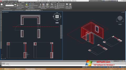Snimak zaslona AutoCAD Architecture Windows 7