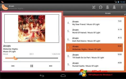 Snimak zaslona Clementine Windows 7