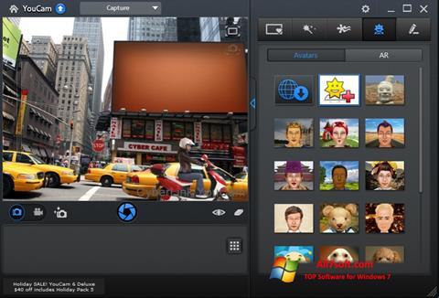 Snimak zaslona CyberLink YouCam Windows 7